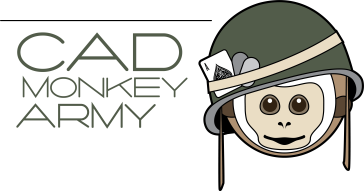CAD Monkey Army LOGO